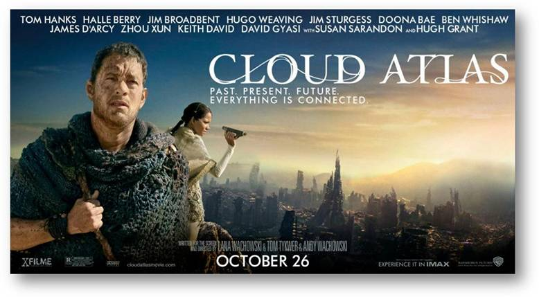 Dos Live Giveaway: CLOUD ATLAS Movie Pass Giveaway!