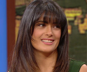 salma Hayek on Wendy Williams Show