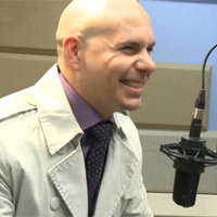WorldView: Pitbull Interview On 103.5 KTU With Cubby and Cindy