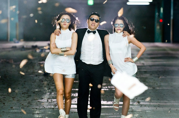 psy-ladies-gangnam-style YOuTube most viewed