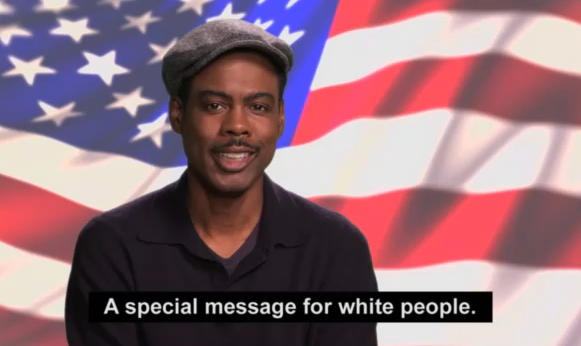 Chris Rock Special Message for White People