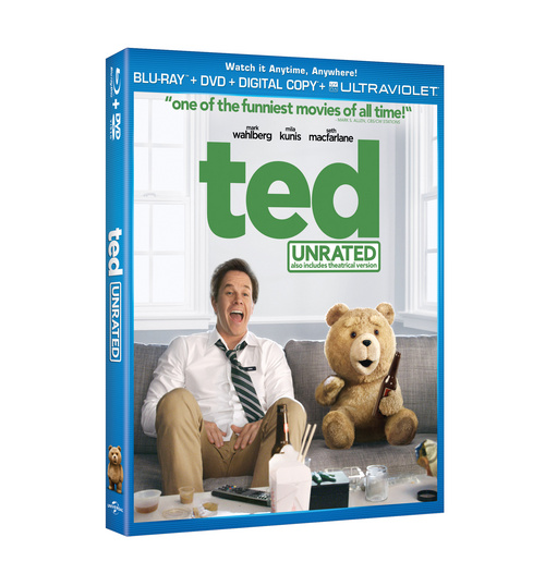 Ted 'Unrated' on DVD/ Blu Ray ( Dec. 11)