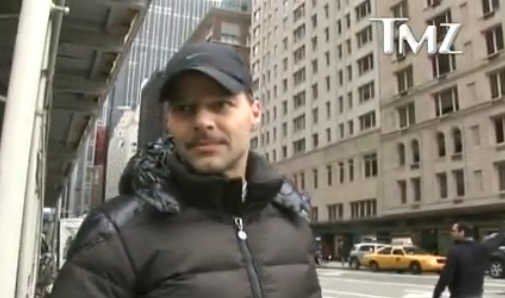 Ricky Martin SUPPORTS NYC Marathon The Show Must Go On TMZ.com