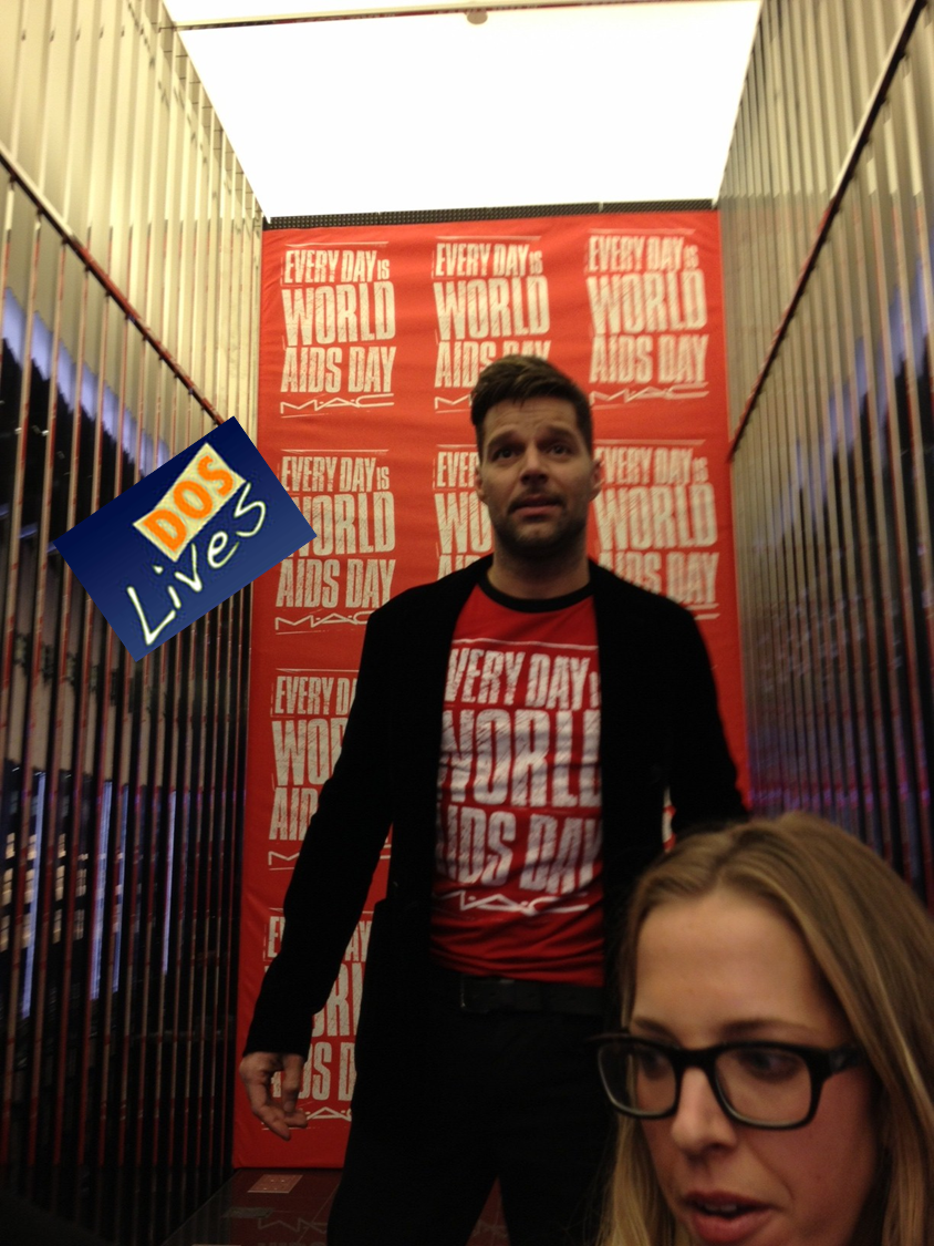 Ricky Martin World AIDS Day