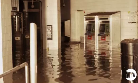 WorldView: South Ferry Subway Station is Still Wet!