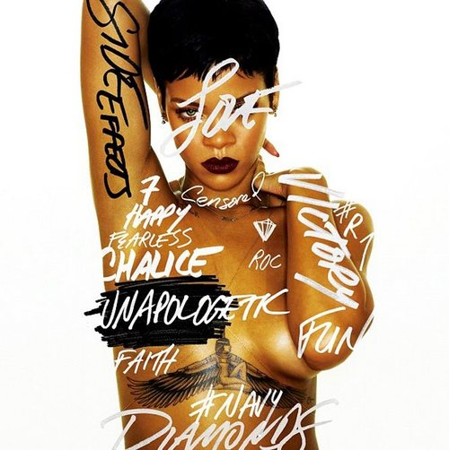 Rihanna's Official Track List For Her New Album 'Unapologetic'