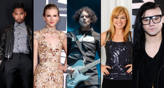 Complete List of 55th Annual Grammy Award Nominees 2013