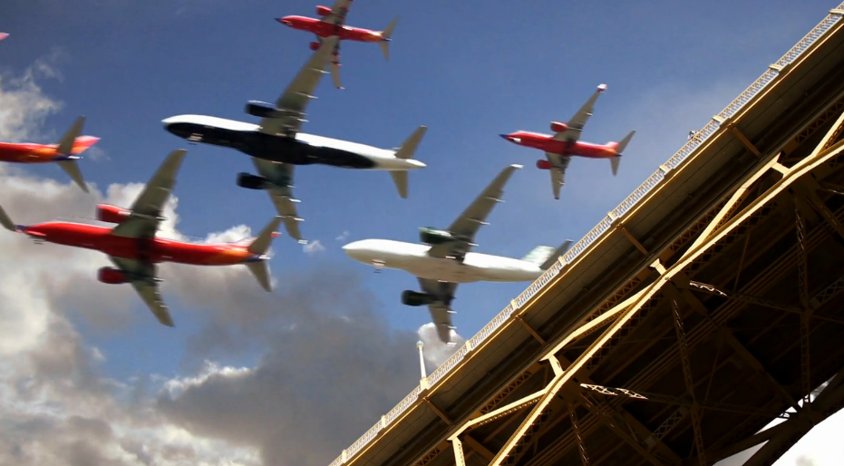 WorldView: San Diego International Airport Plane Landings Video by Cy Kuckenbaker