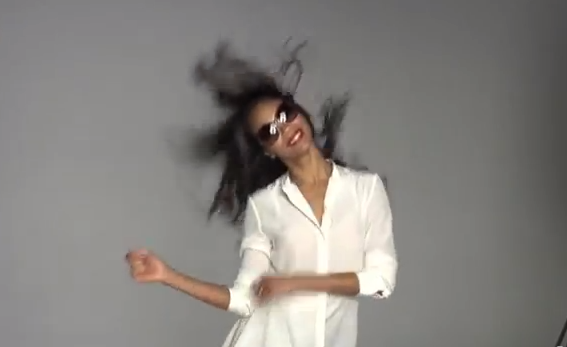 WorldView: Behind-the-Scenes with Zoe Saldana for LensCrafters Commercial