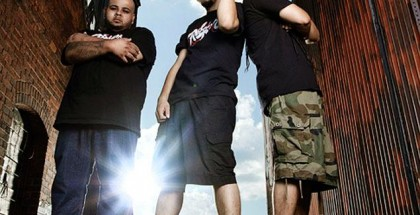 Members of the Rebel Diaz Arts Collective (from left): DJ Illanoiz, RodStarz and G1.