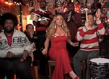 mariah carey on jimmy fallon WorldView: Mariah Carey,Jimmy Fallon, And The Roots Sings All I Want For Christmas Is You