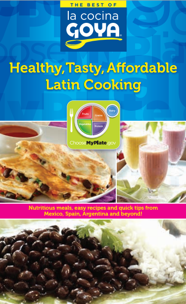 Goya MyPlate_cookbook