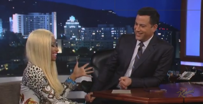 Nicki Minaj on Jimmy Kimmel Live YouTube