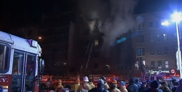 4-Alarm Fire Destroys Building on 181st and Amsterdam in Washington Heights
