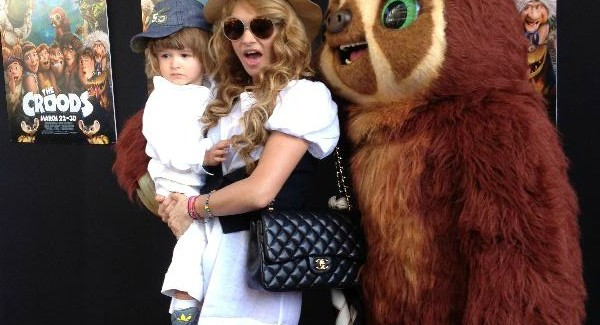 Photo: Paulina Rubio & Son Enjoy Weekend Movie in Miami
