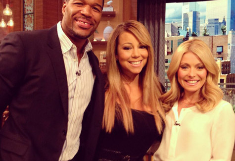 WorldView: Mariah Carey on Live With Kelly & Michael