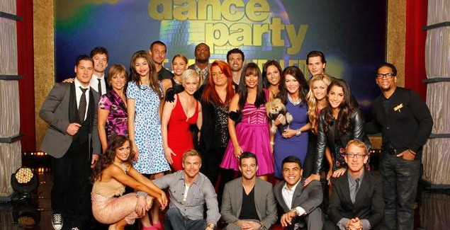 Dancing With The Stars:  Week Three Leaderboard Scores