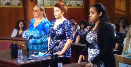 Judge Judy brushed teeth seven times
