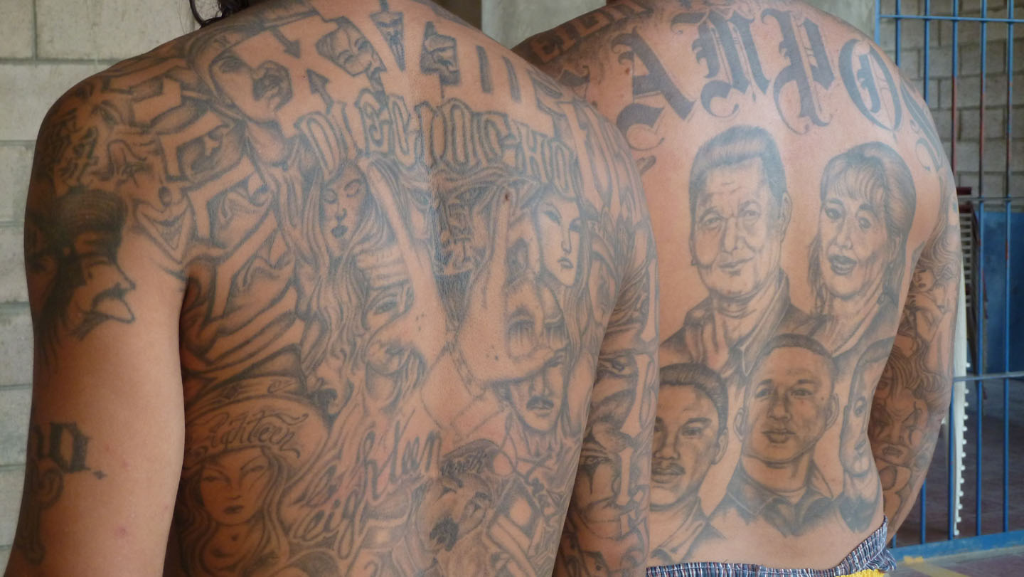 One on one with lou ferrante host of inside the gangster for Mexican prison tattoos