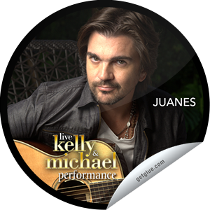 Juanes Visits Live With Kelly And Michael (Performance)