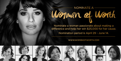 L'oreal Women of Worth