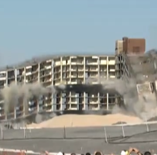 WorldView: Governors Island's Tallest Building Imploded
