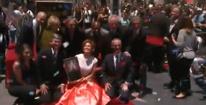 Jennifer Lopez Hollywood Walk of Fame 2