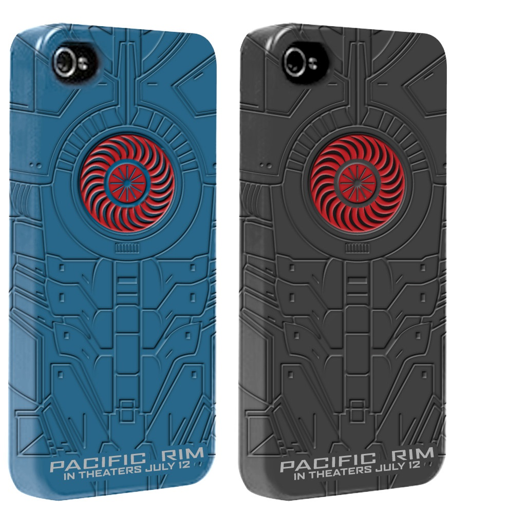 Pacific Rim Silicone Padded 3D iPhone Case
