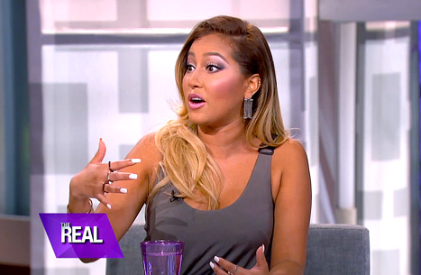 Adrienne Bailon Keeps it Real on her Boob Job at 19