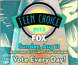 Teen Choice Awards live from Los Angeles this Sunday