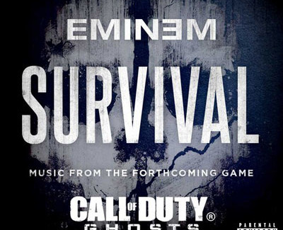 Eminem's Releases New Song 'Survival' For Call of Duty: Ghost