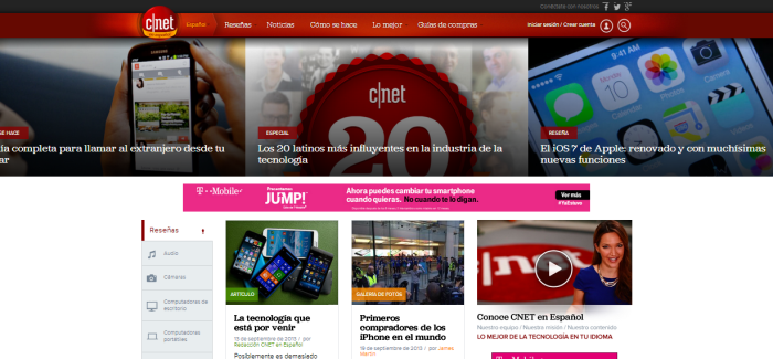 CNET Español Launches; Hires a Dozen Bilingual Editors to Staff Site