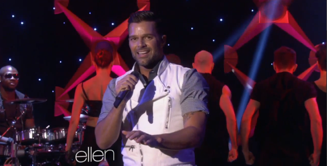 Ricky Martin Performs 'Come with Me' On The Ellen Show
