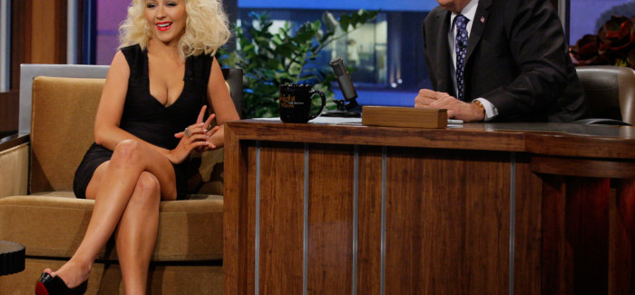 Christina Aguilera Sits Down With Jay Leno, Talks About Being Neighbors With Shakira and The Voice