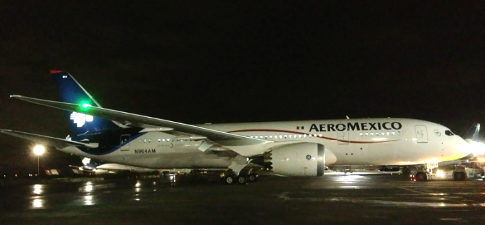 Aeromexico Announces Boeing 787-8 Dreamliner for NYC-Mexico City Routes