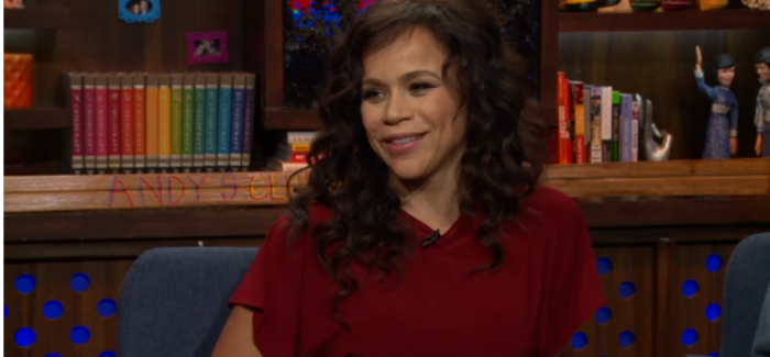 Rosie Perez Reveals Who Was Her Best/Worst On Screen Kiss, Also Says One Of Her Famous Lines