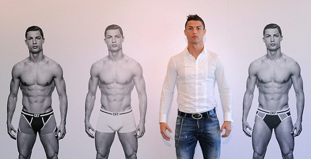 Cristiano Ronaldo Launches Underwear Line CR7