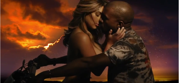 Kanye West – Bound 2  Featuring Kim Kardashian (Official Music Video)