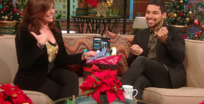 Wilmer Valderrama Chats with Rachael Ray