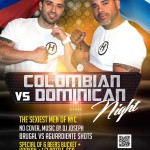 Hombres Loung Thursday colombian v dominican