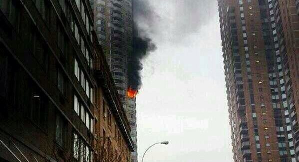 NYC West Side High-Res on Fire