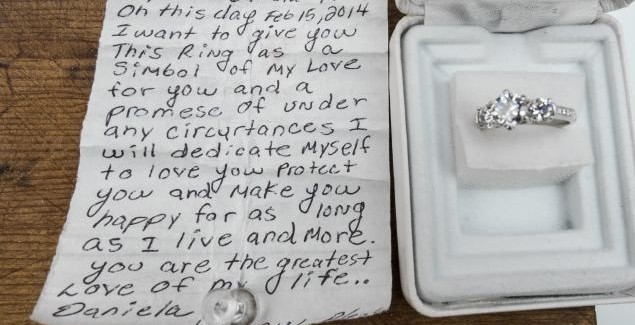 "Engagement Ring Found During Marc Anthony Concert; Note with ""Te Quiero Mucho"" Found with Ring"