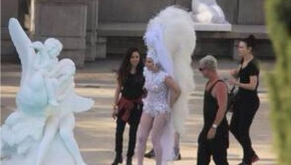 Behind-the-Scenes Sneak Peek of Lady Gaga's New Music Video