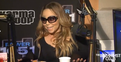 Mariah Carey Interview at The Breakfast Club Power 105.1 YouTube