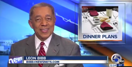 Valentine s Day News Blooper Leon Bibb Says Titties Live on the air YouTube