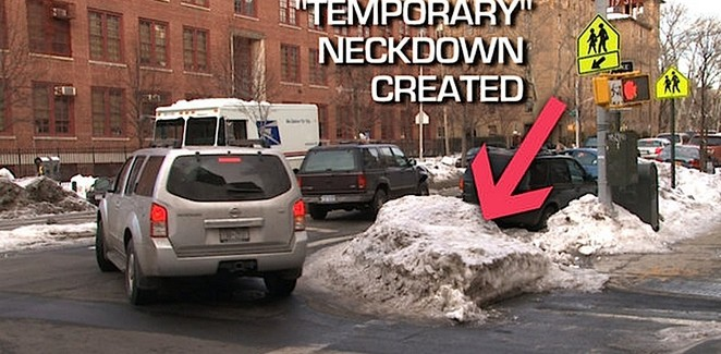 What is a Sneckdown?