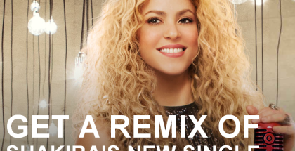 "Free Exclusive Remix of Shakira's New Single, ""Can't Remember to Forget You"""
