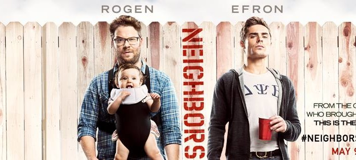 Official Trailer: 'Neighbors' Starring Zec Efron and Seth Rogen