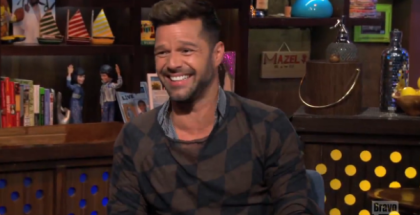 Ricky Martin Watch What Happens Live