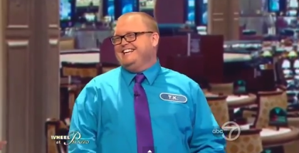 Gay Wheel of Fortune Contestant